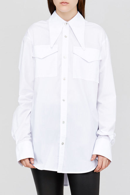 White Acler Jennings Shirt
