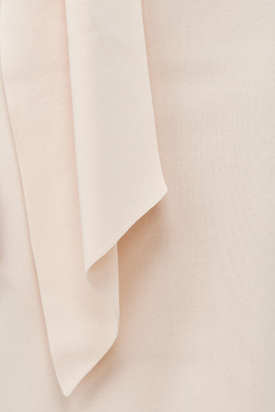 Acler Aster stretch fabric in eggshell