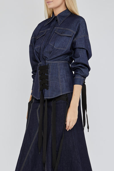 Tenby Denim Shirt