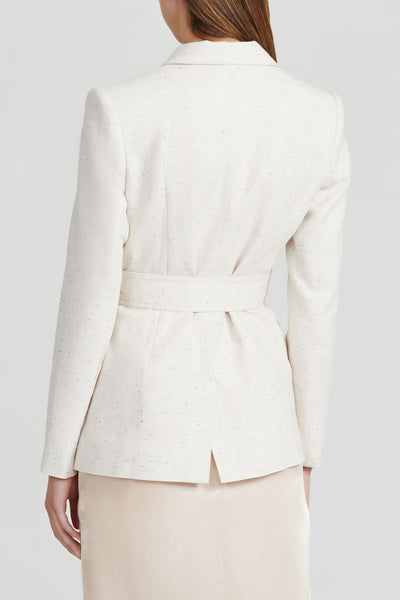 Acler Ladies, Cream, Single Breasted Blazer - Back Detail