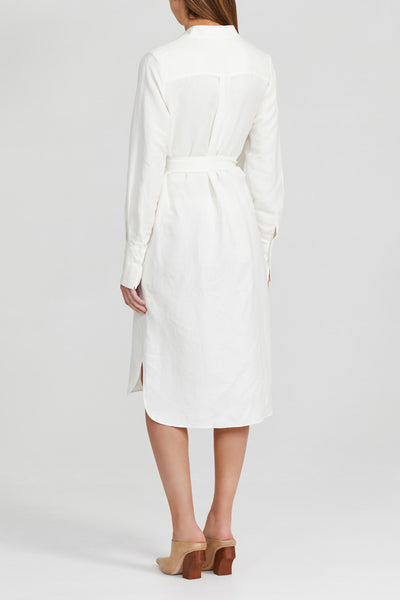 Acler Ivory, Midi Shirt Dress - Back View