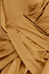 Acler Caramel Mini Skirt - Exaggerated Twist Detail