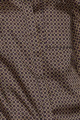 Acler Long Sleeved Chocolate Brown Blouse