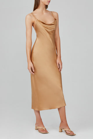 MAYNARD SILK DRESS