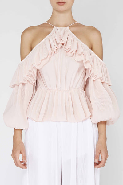Keppel Pleat Top
