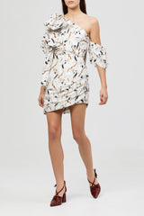 Acler Ladies Maves One Shoulder Fitted Cocktail Dress