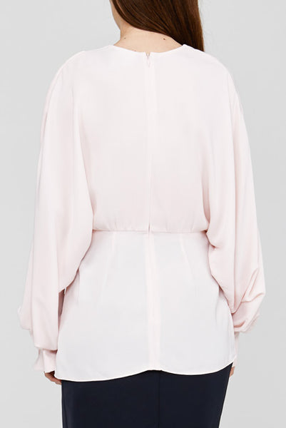Back Detail on Pale Pink Acler Jenkins Blouse