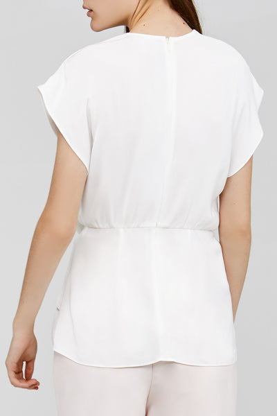 Acler Cream Ladies Top Back Detail