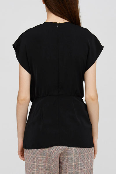 Acler Black Ladies Top Back Detail