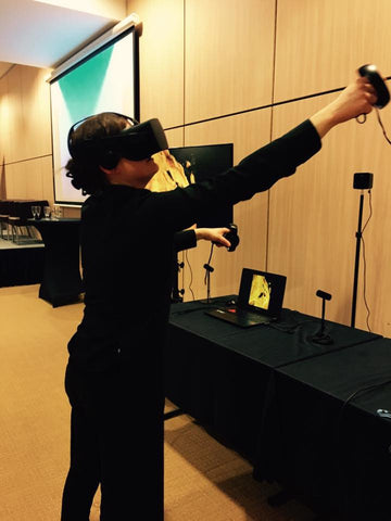 Evenement animation réalité virtuelle oculus rift htc vive