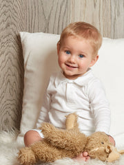 Organic cotton baby clothing, blankets and sheets