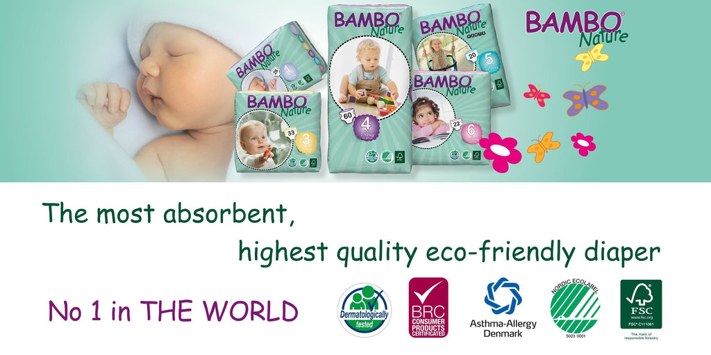 Bambo Nature - the best diapers