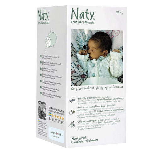 NATY - Nature Babycare Eco Nursing Pads