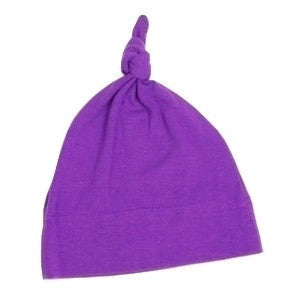 BetterBabyBums: Pjzzzz Bamboo Toque - Purple