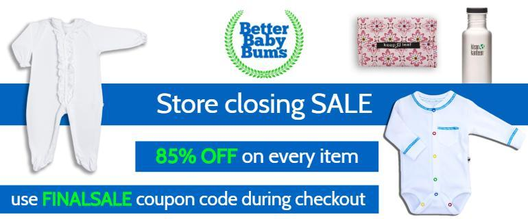 Organic Baby Clothing - ON SALE NOW