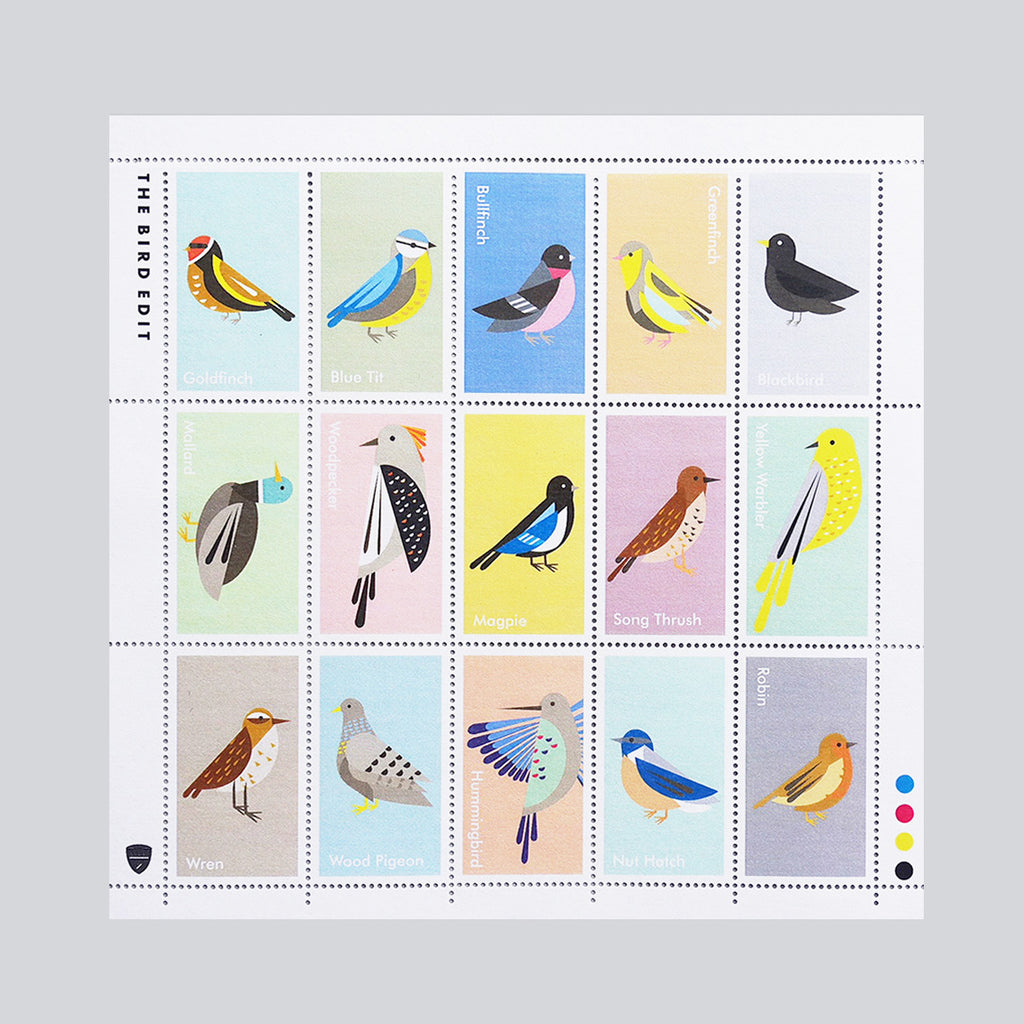 Bird Stamp Collection