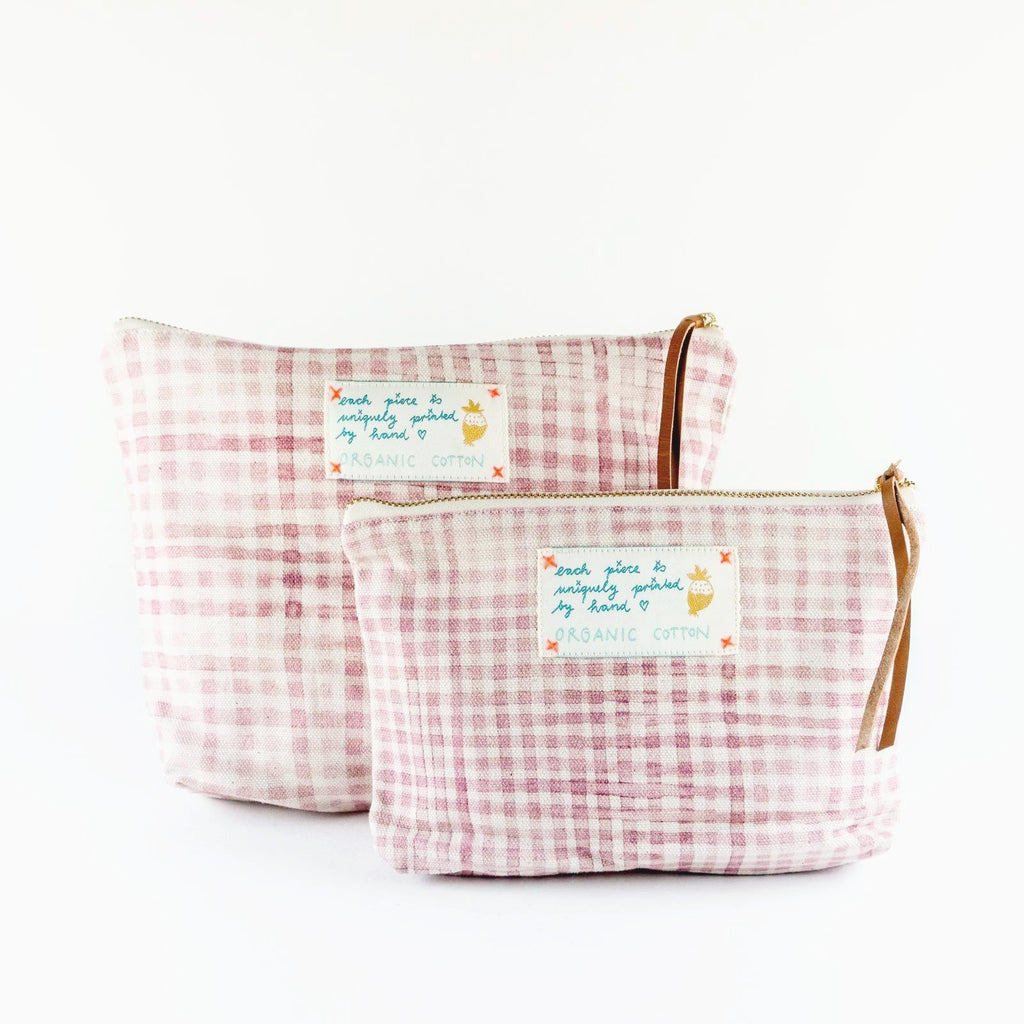 "Necessaire ""My Rose Check"""