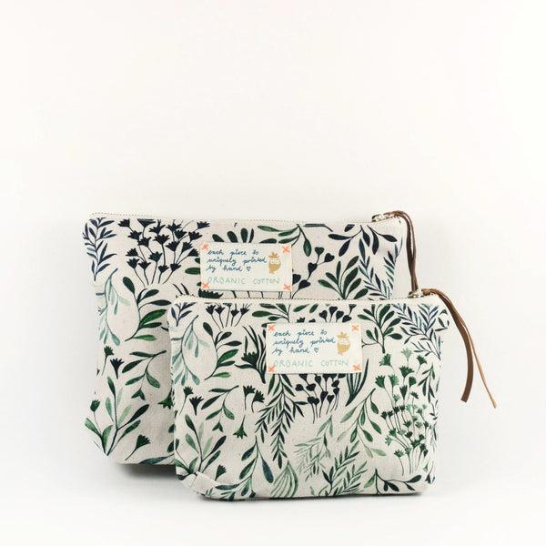 "Necessaire ""My Green Leaves"""
