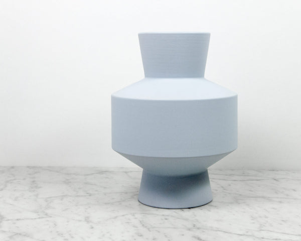 Vase 18 Light Blue