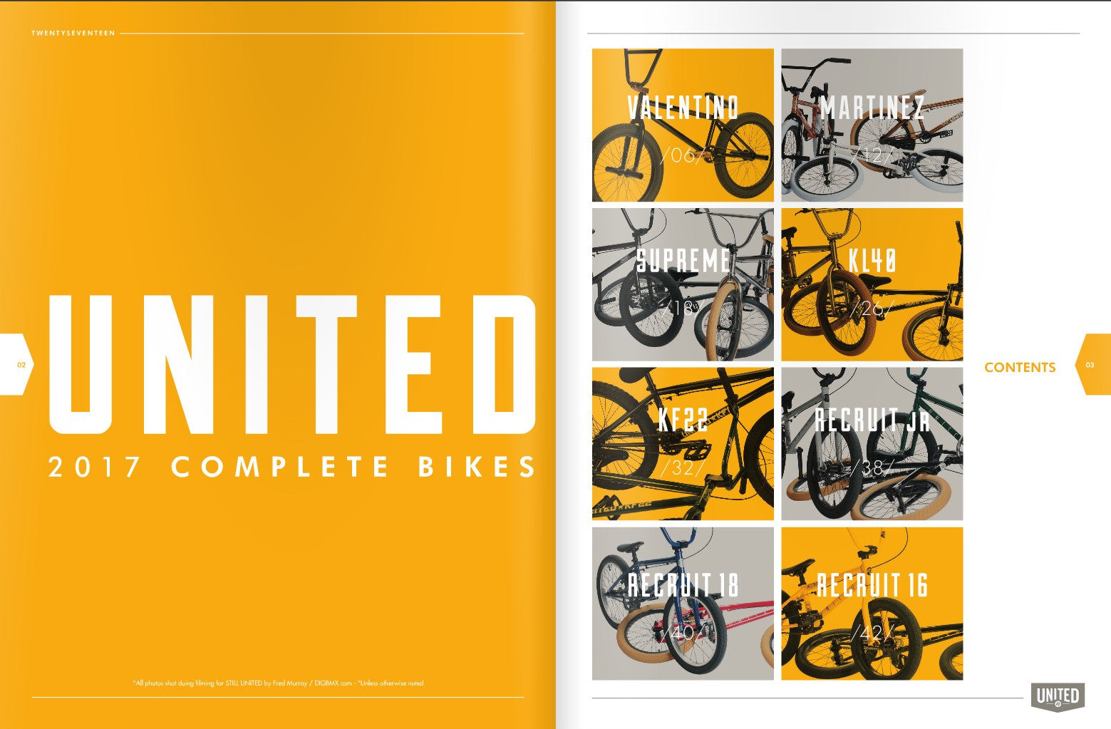 United 2017 Complete Bikes OUT NOW!