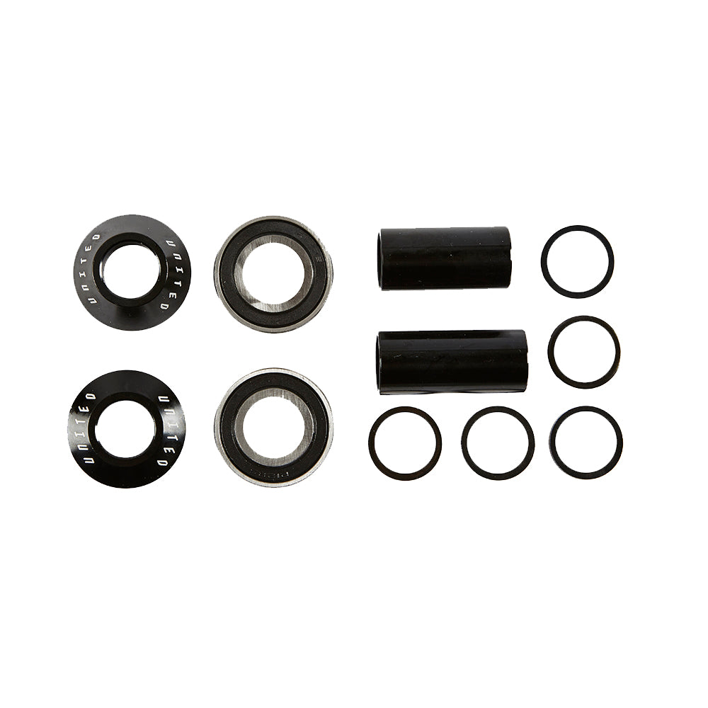 Supreme Mid BB Kit 19mm Black - BMX Part