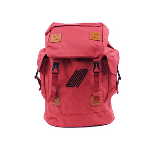 Explorer Backpack - Red/Tan