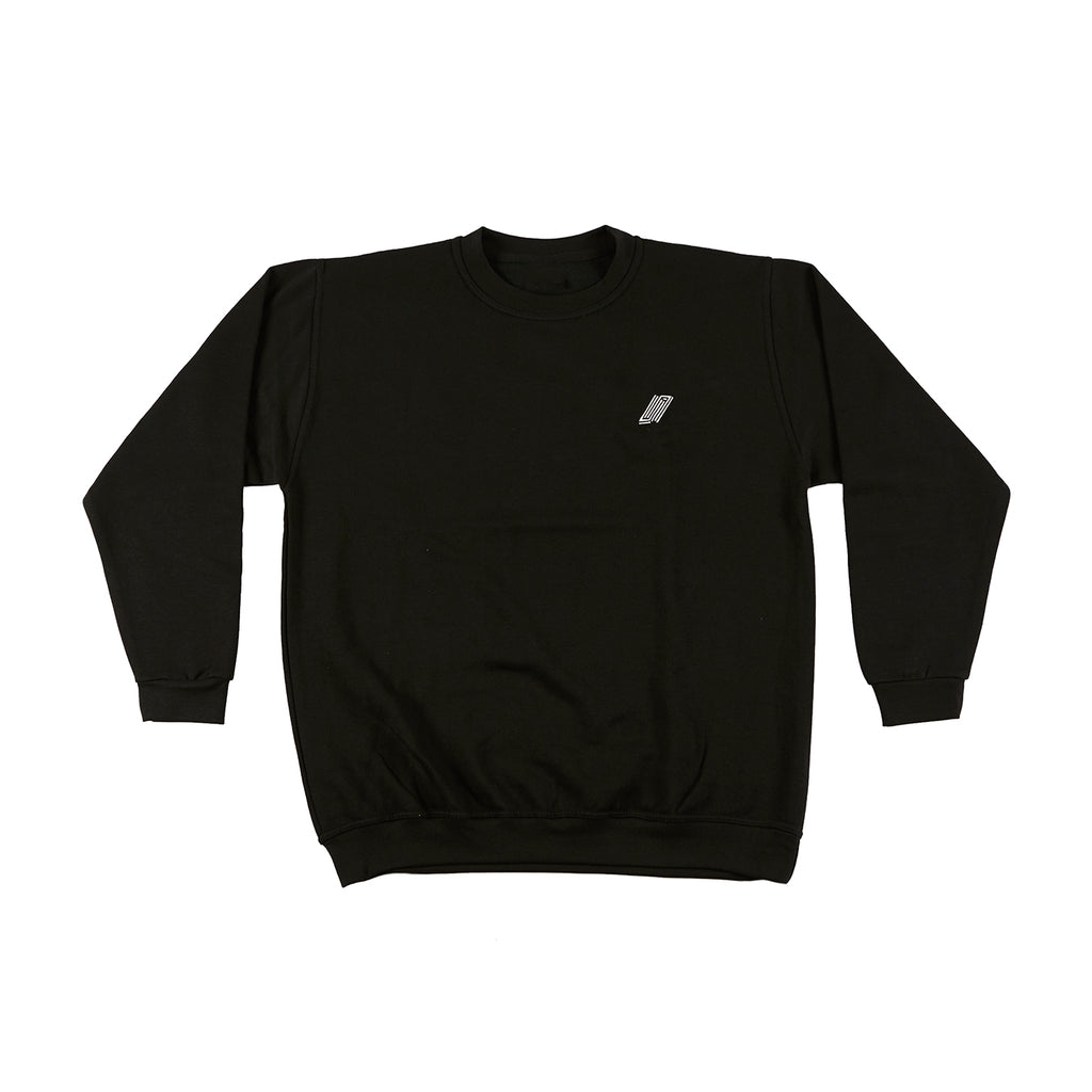 Embroidered Logo Crew Neck