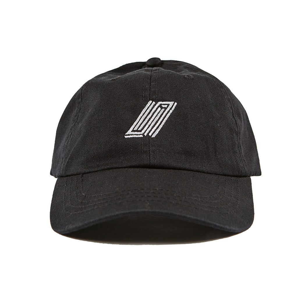 Embroidered Dad Hat - Black