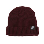 Label Beanie Burgundy