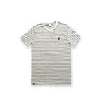 United Stripe T-Shirt White/Grey