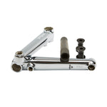 Supreme v3 3pc Cranks Chrome - BMX Parts