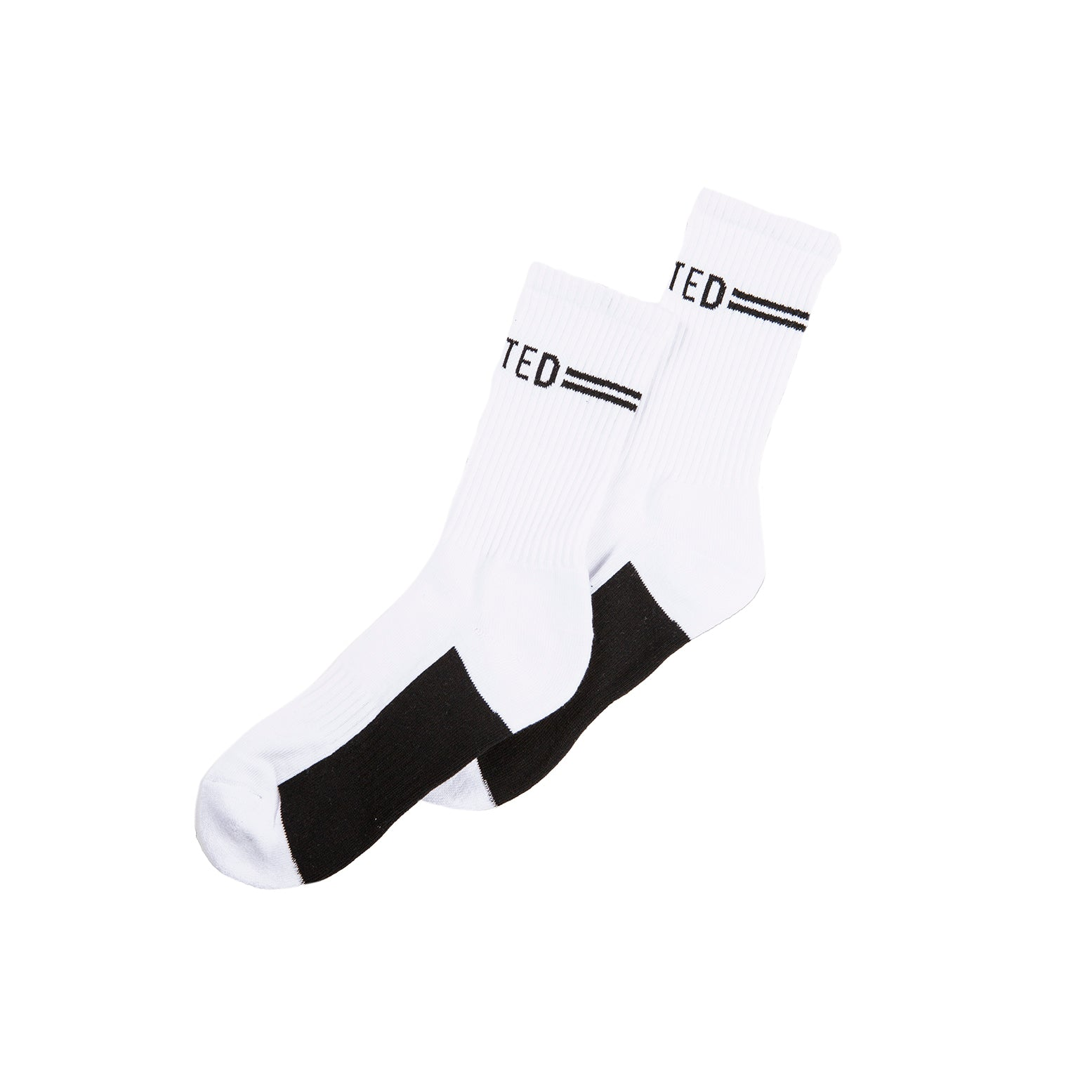 United Signature Socks - White