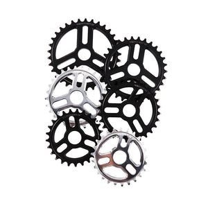 Rotary Sprocket Black Polished - BMX Parts