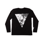 Hooper Long Sleeve T-Shirt Black
