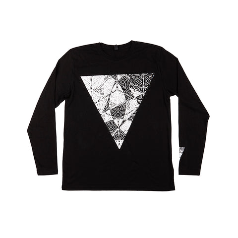 HOOPER LONGSLEEVE T-SHIRT BLACK