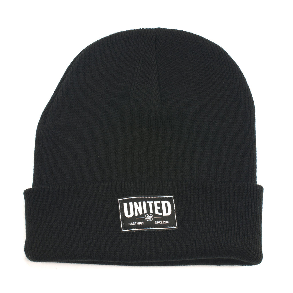 Signature Label Cuff Beanie