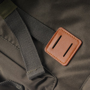 Explorer Backpack - Army Green/Tan