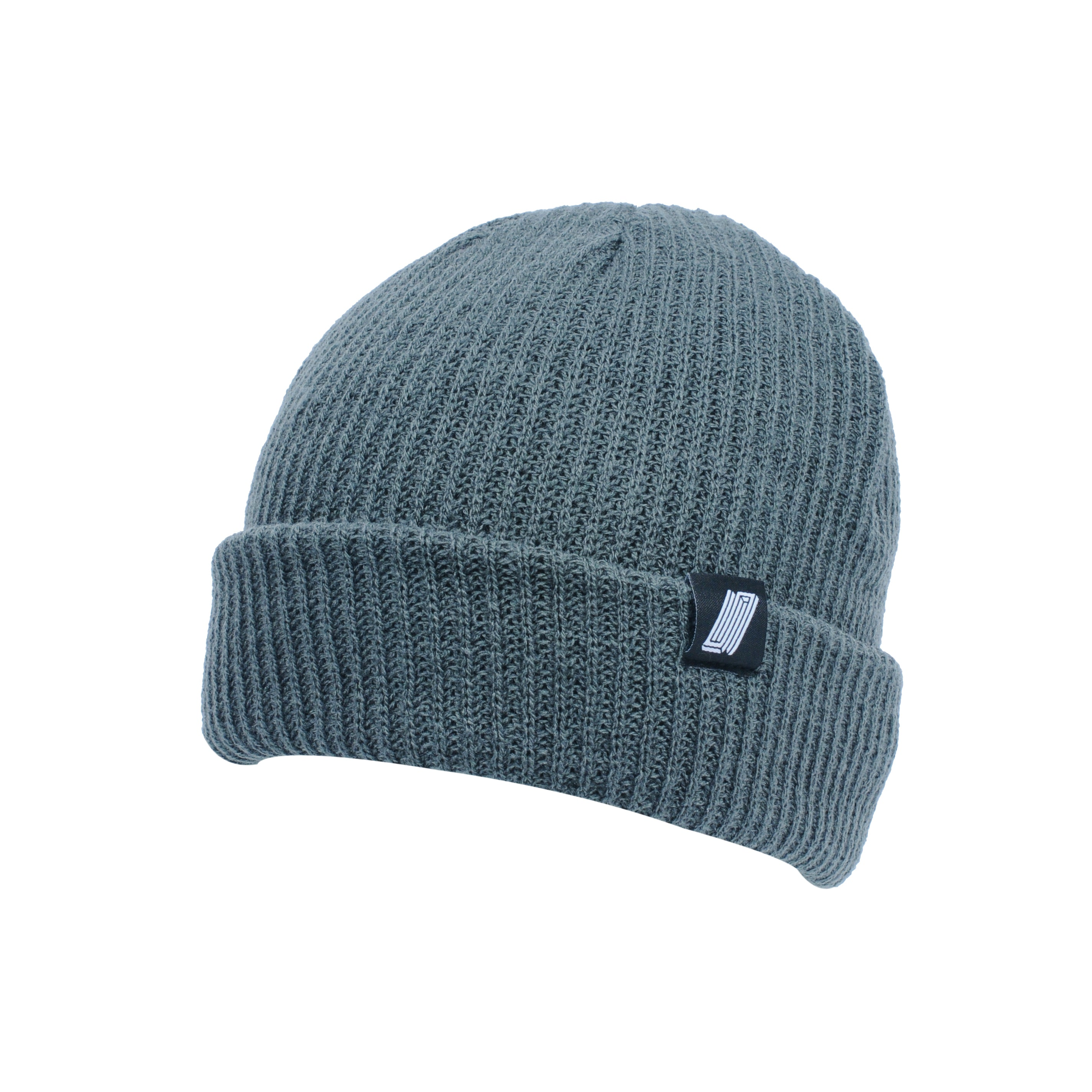 Label Beanie Grey