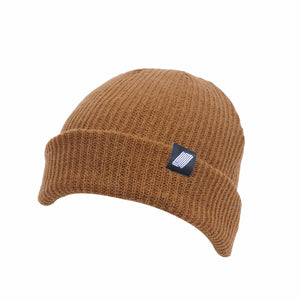 Label Beanie Brown