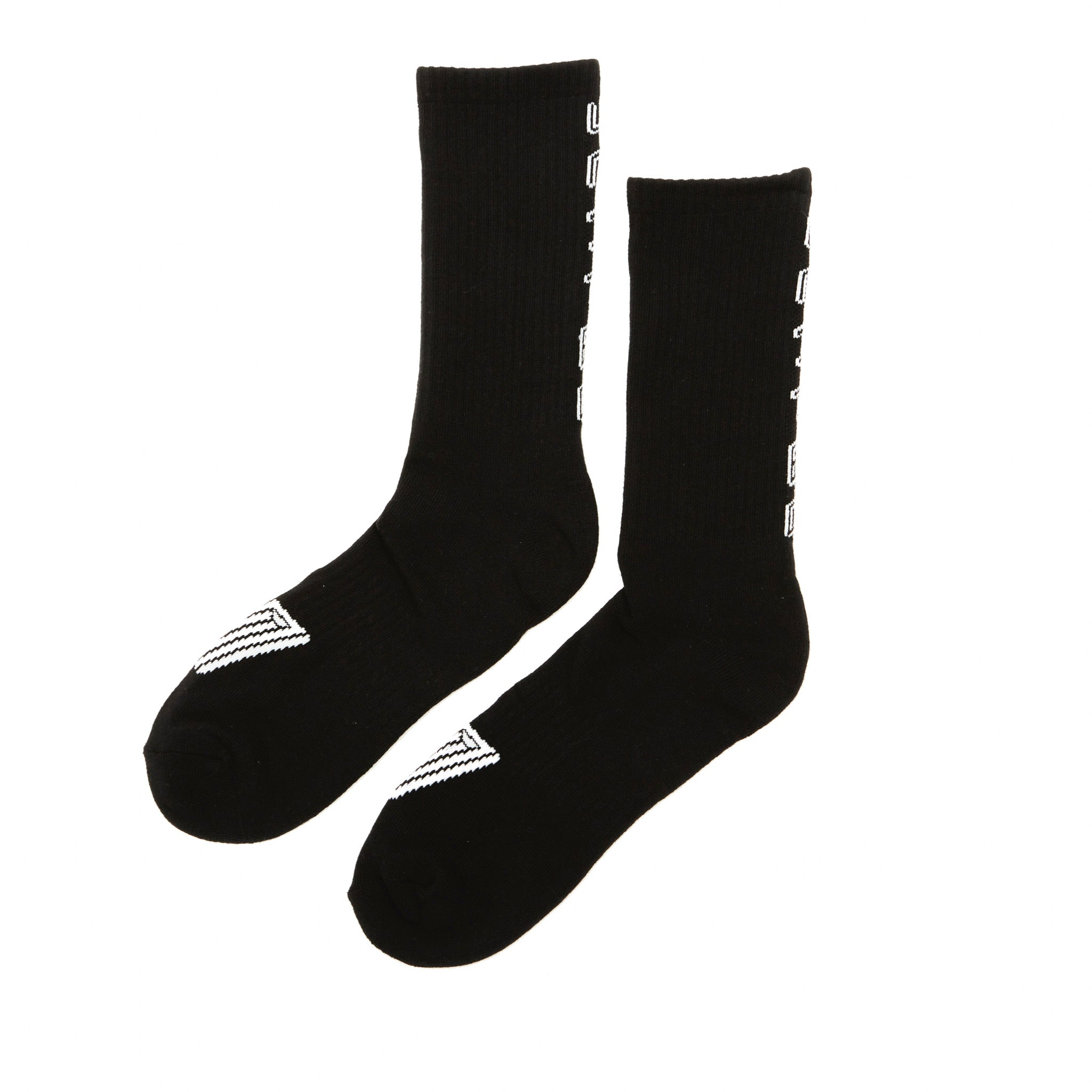 United Logo Sock Black