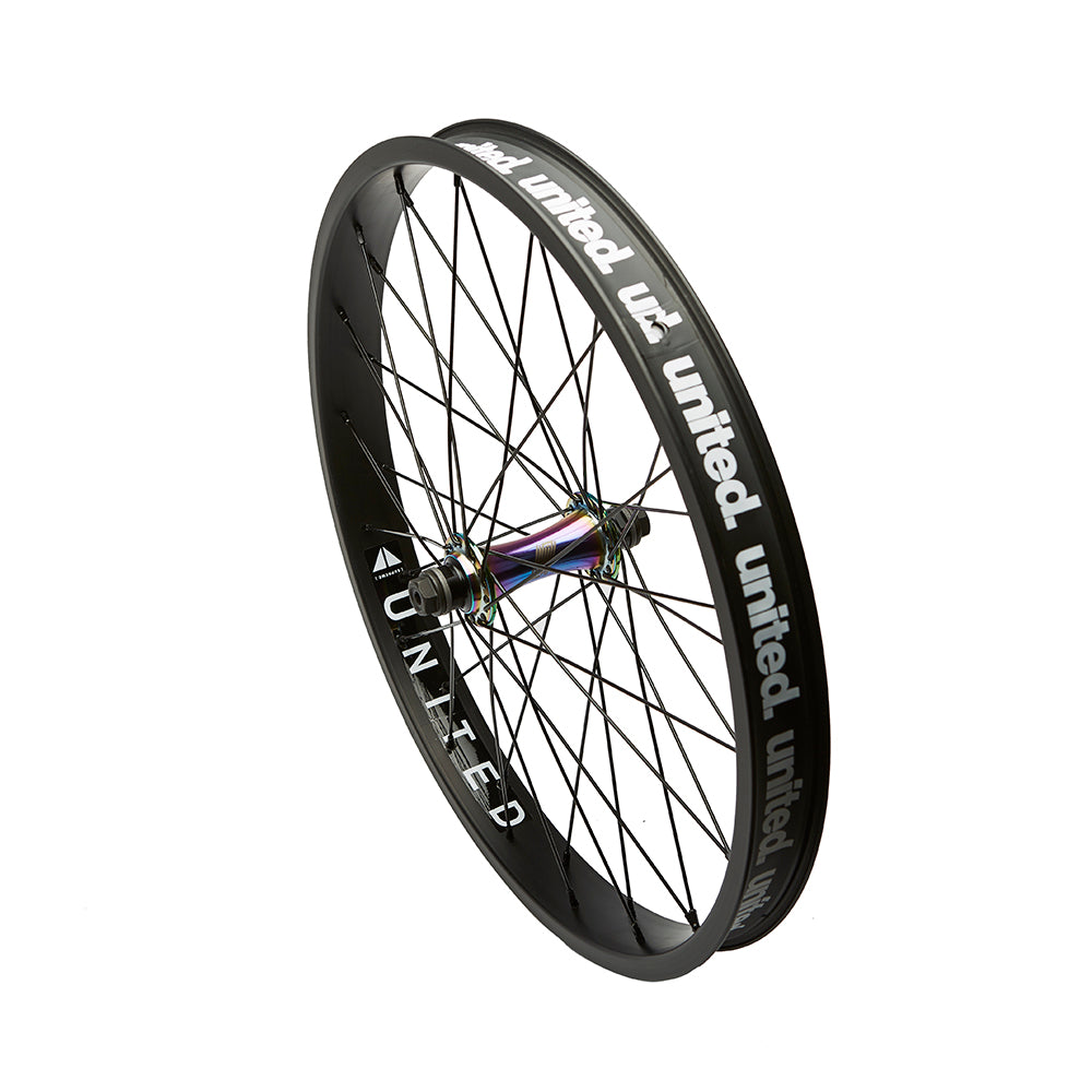 "20"" Front Supreme BMX Front Wheel Oil Slick"