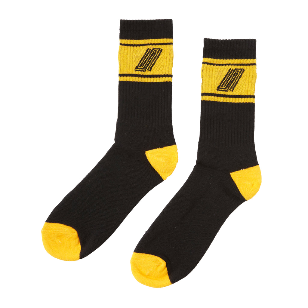 United Reborn Sock Black/Orange