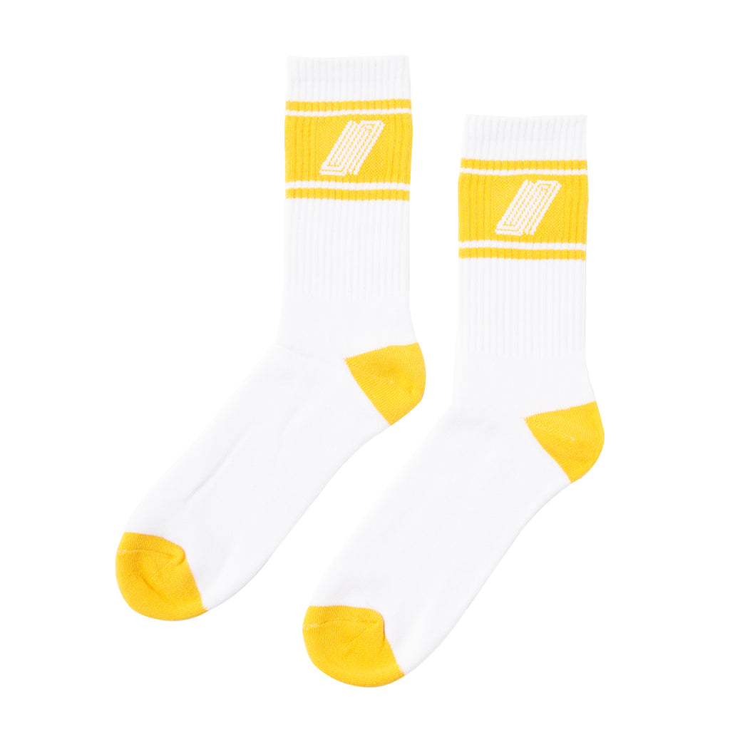 United Reborn Sock White/Orange