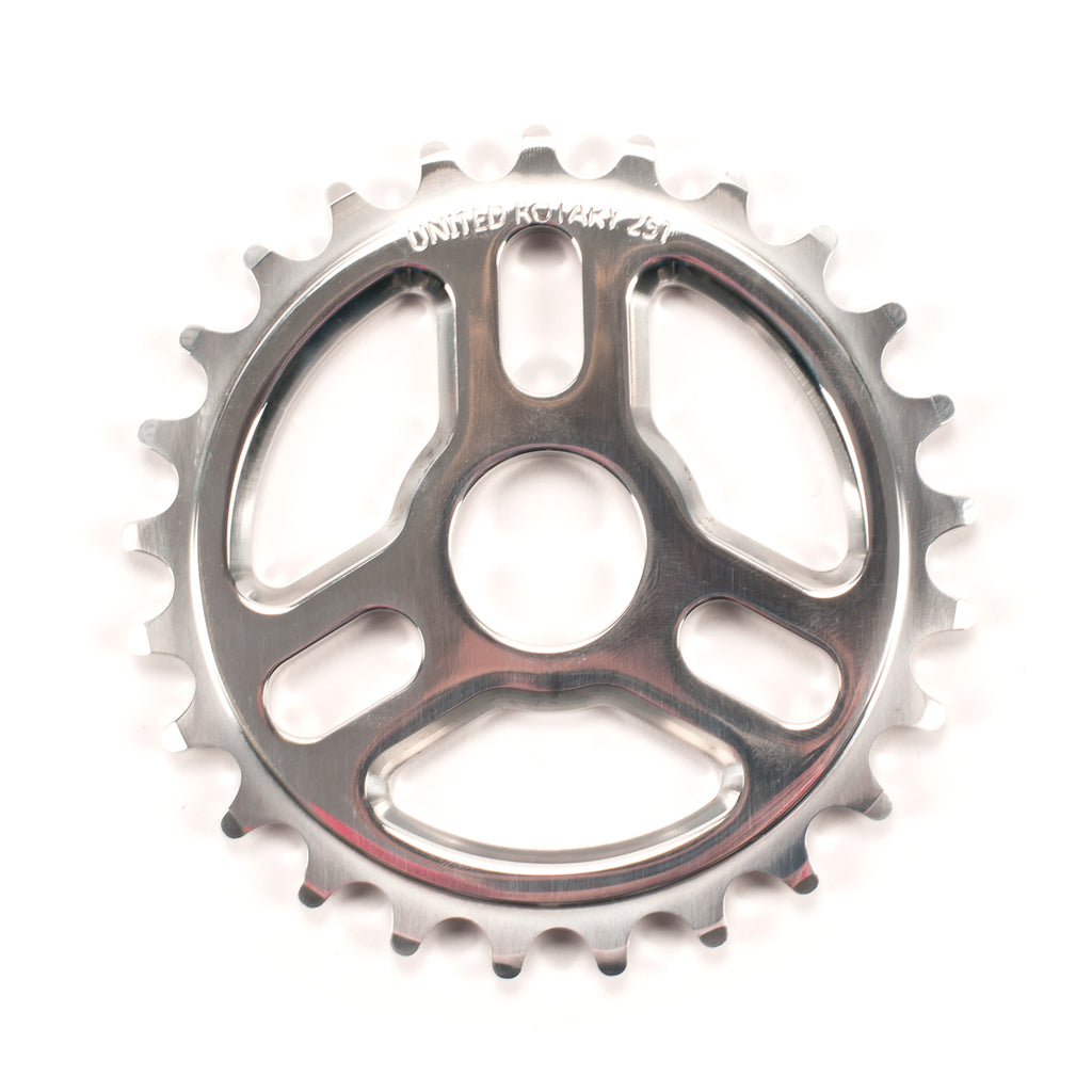 Rotary Sprocket Black Polished