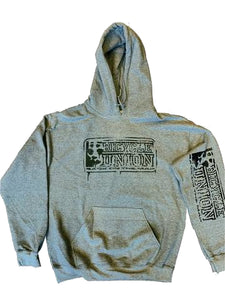Union Map Hooded Sweat Grey