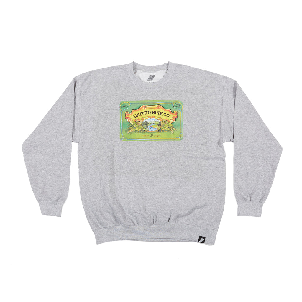 United Seamus IPA Crew Neck Heather Grey