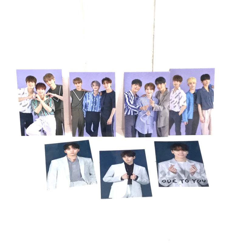 Official SEVENTEEN - Ode To You 2019 Trading Cards Set (7 Karten)