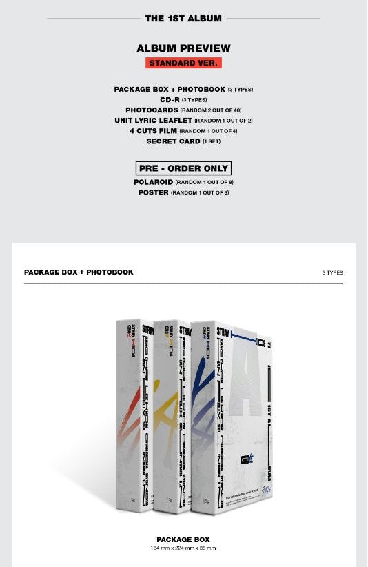 Stray Kids - GO: 生 (Standard Edition) - J-Store Online