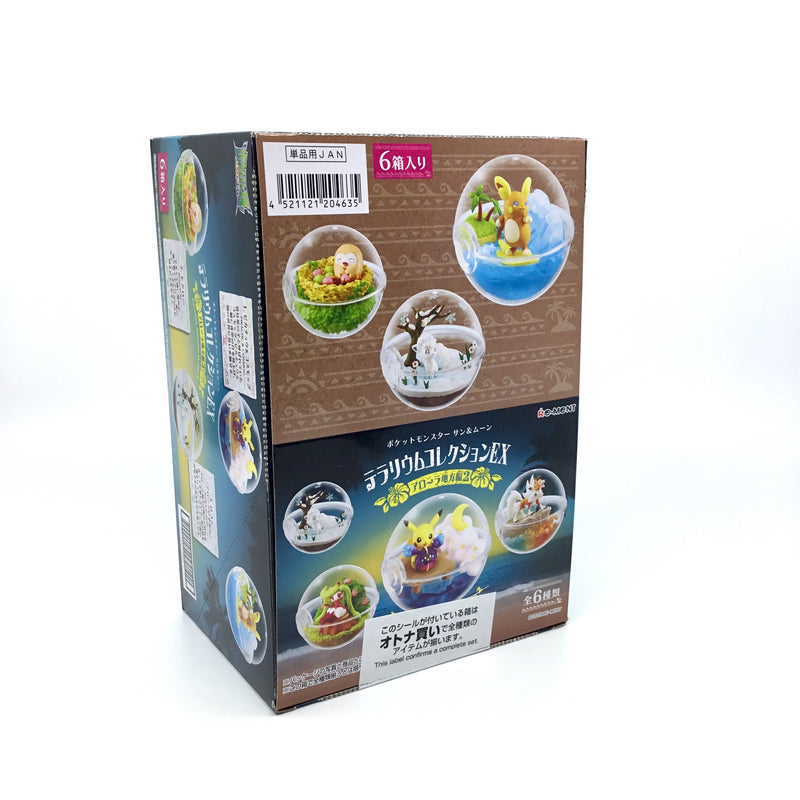 Pokémon Terrarium Collection EX Alola 2 - Komplett Paket