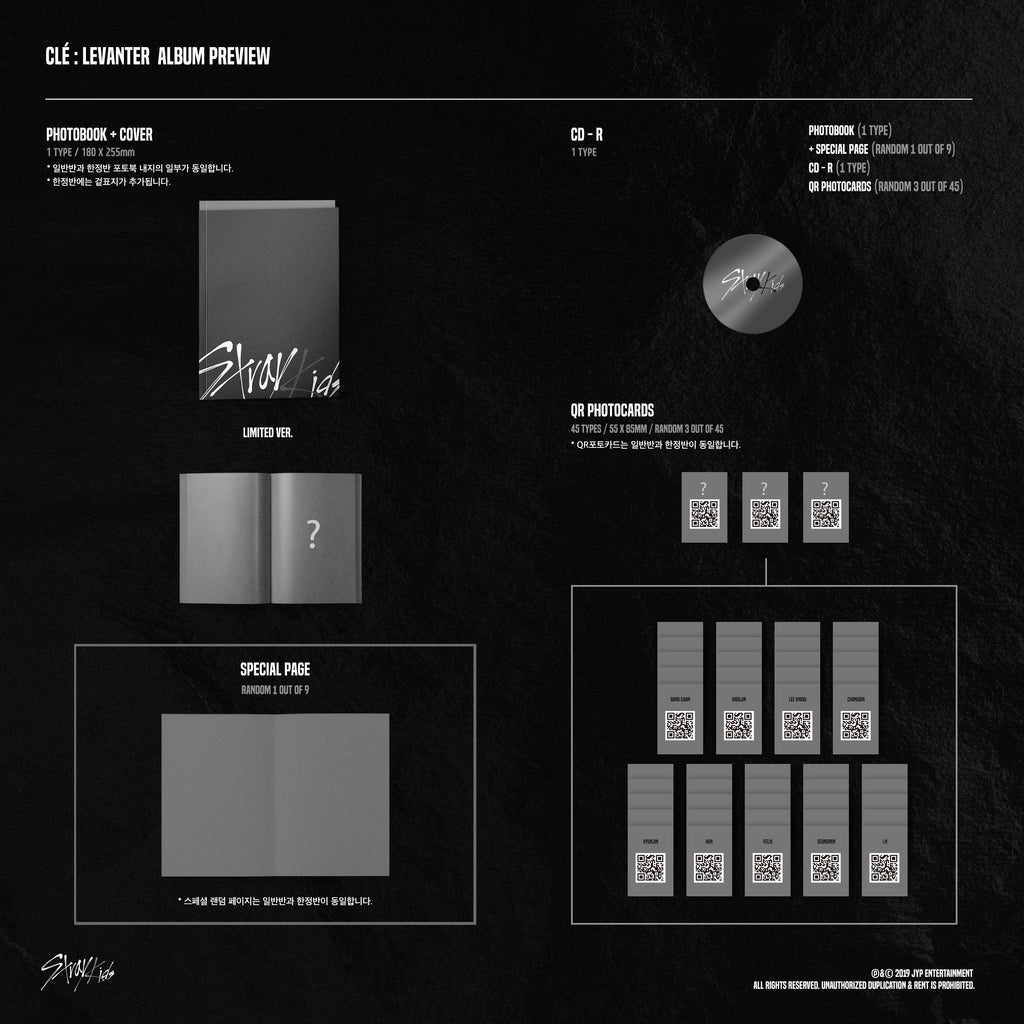 Stray Kids - CLE : LEVANTER (Limited Edition) - J-Store Online
